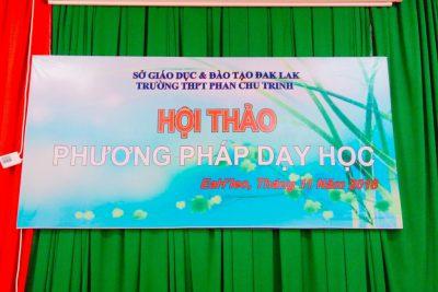 Trường THPT Phan Chu Trinh tổ chức Hội thảo phương pháp dạy học tích cực