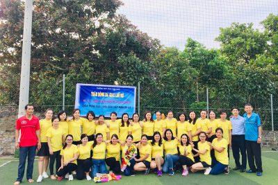 Công Đoàn Trường THPT Phan Chu Trinh tổ chức ngày hội thể thao cho công đoàn viên nữ của nhà trường
