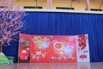 Không khí tết cổ truyền đã về với THPT Phan Chu Trinh