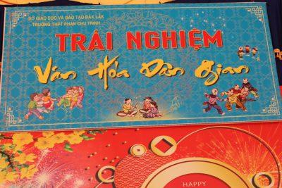 Trường THPT Phan Chu Trinh tổ chức chương trình trải nghiệm Văn hoá dân gian Xuân Kỷ Hợi