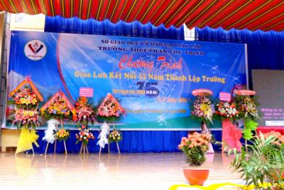Chương trình Giao lưu – Kết nối chào mừng 15 năm thành lập trường THPT Phan Chu Trinh